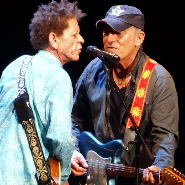 Wilson Cadillac: Video: Bruce Joins Brian Wilson On Stage In Holmdel, July 01, 2015