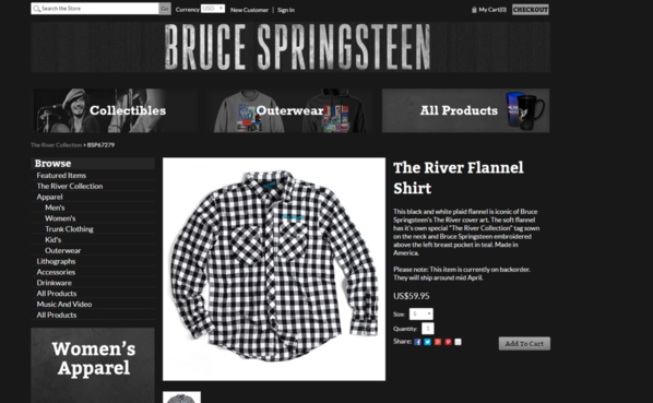 bruce inc cashing in on checkered shirt guy