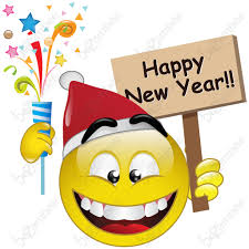 Image result for happy new year banner emoticon