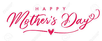 Happy Mother`s Day Elegant Calligraphy Banner. Lettering Vector ...